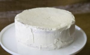 layer white cake